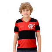 Camisa Flamengo Infantil DRY Zico