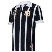 Camisa Polo Retrô Gol Réplica Sócrates Ex - Corinthians 1983 Torcedor