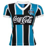 Camisa Retrô Grêmio 1989 Infantil Feminina