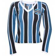 39f29338aa Camisa Retrô Grêmio Manga Longa 1983 Masculina