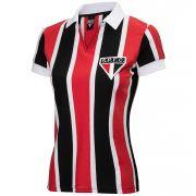 Camisa Retrô São Paulo 1957 Feminina