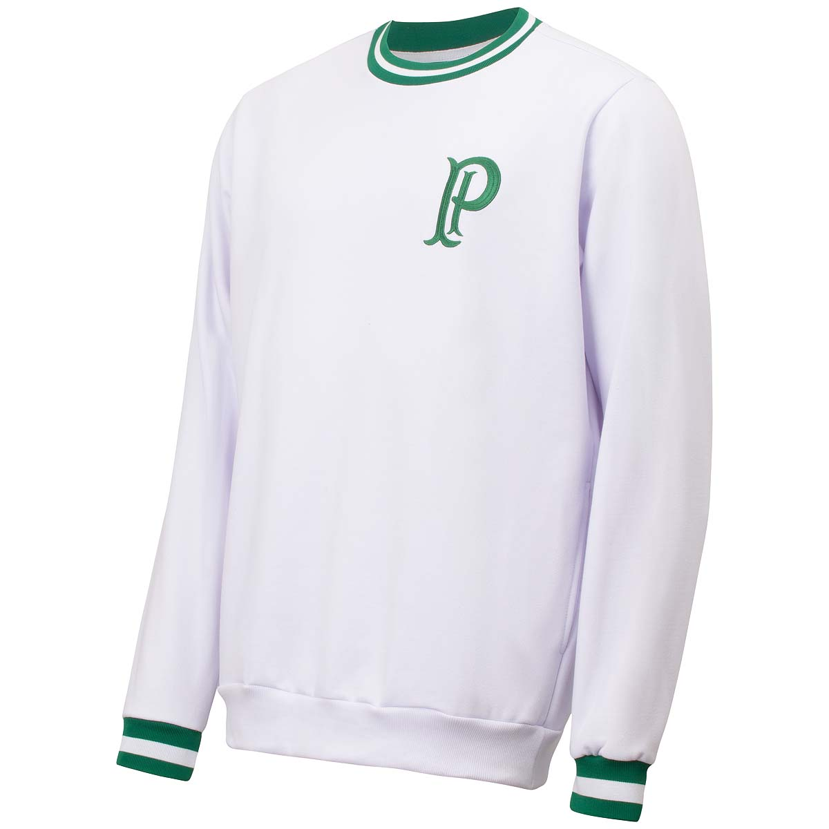 Blusão de Moletom Palmeiras Vintage Palestra Itália Masculina
