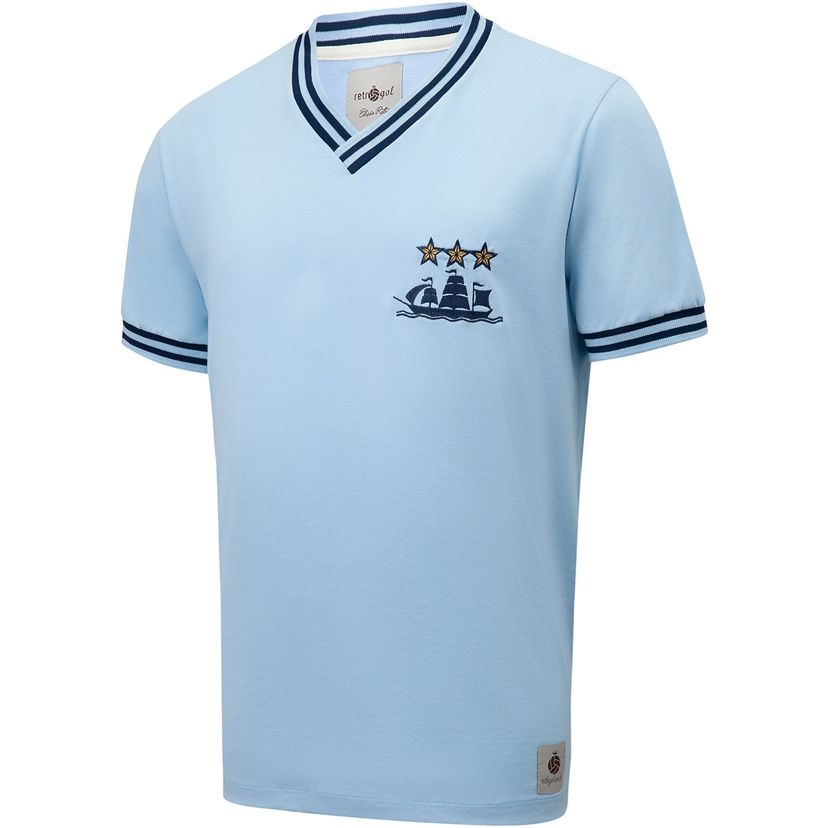 Camis Manchester City Retrô 1980 nº 10 Masculina