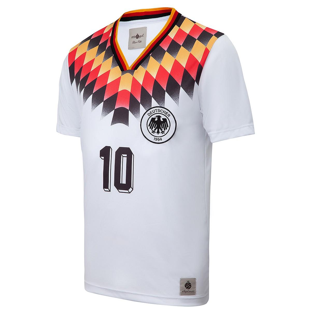 Camisa Alemanha Retrô 1994 Masculino