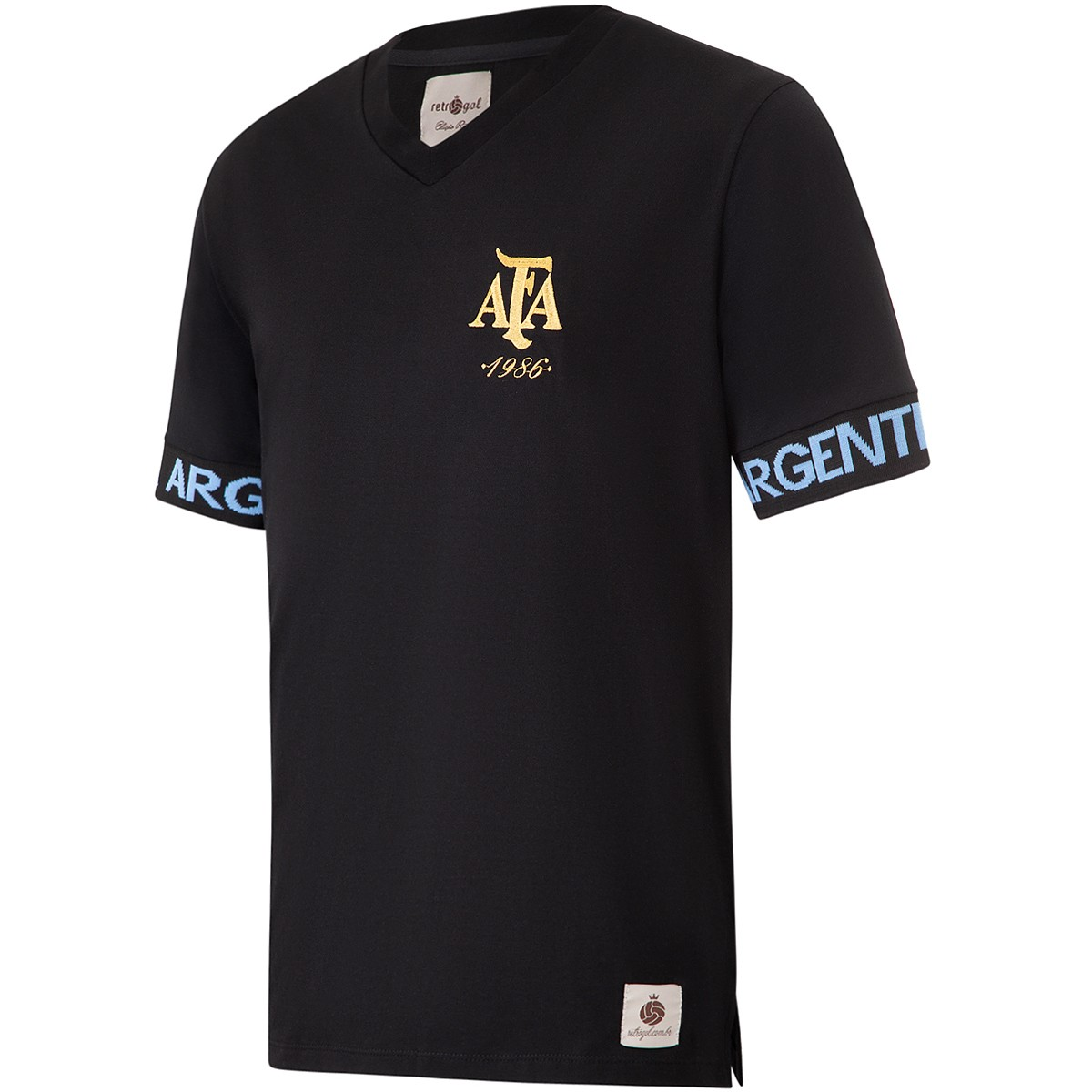 Camisa Argentina Retrô Sleeve Masculina