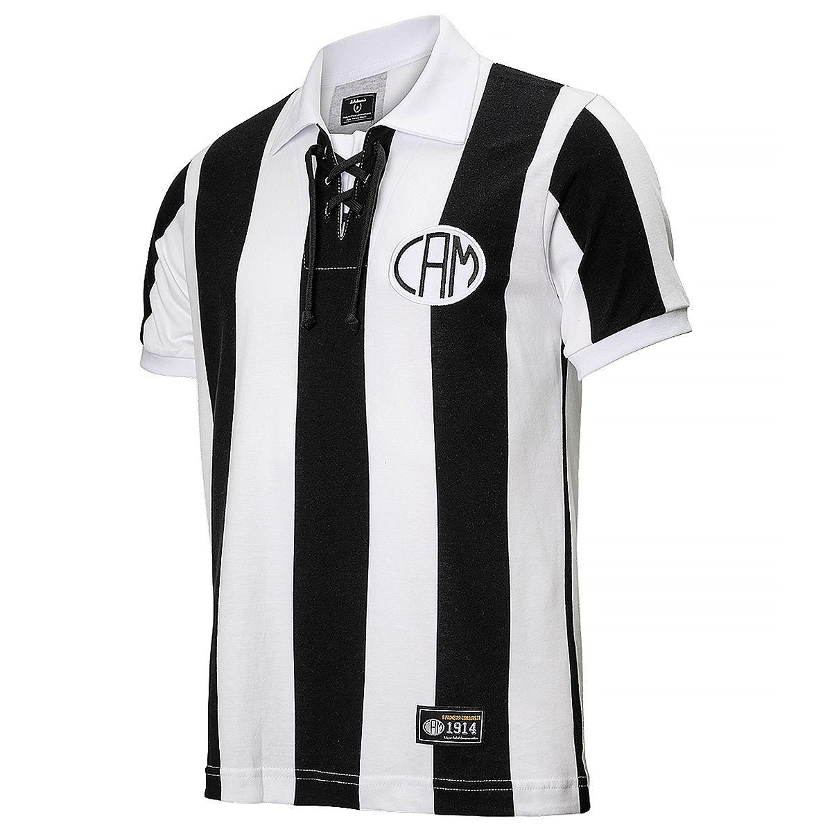 Camisa Atlético Mineiro Retrô 1914