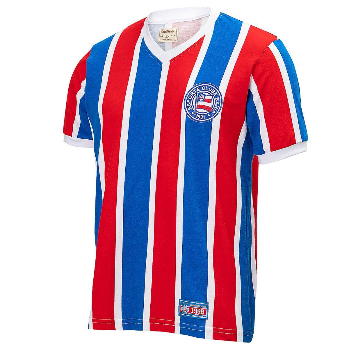 Camisa Bahia Retrô 1988 Masculina