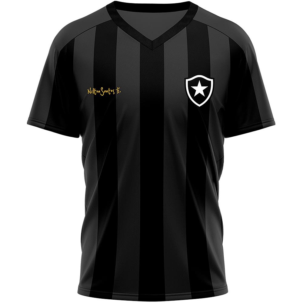 Camisa Botafogo Retrô Lore Nilton Santos Dry Masculina
