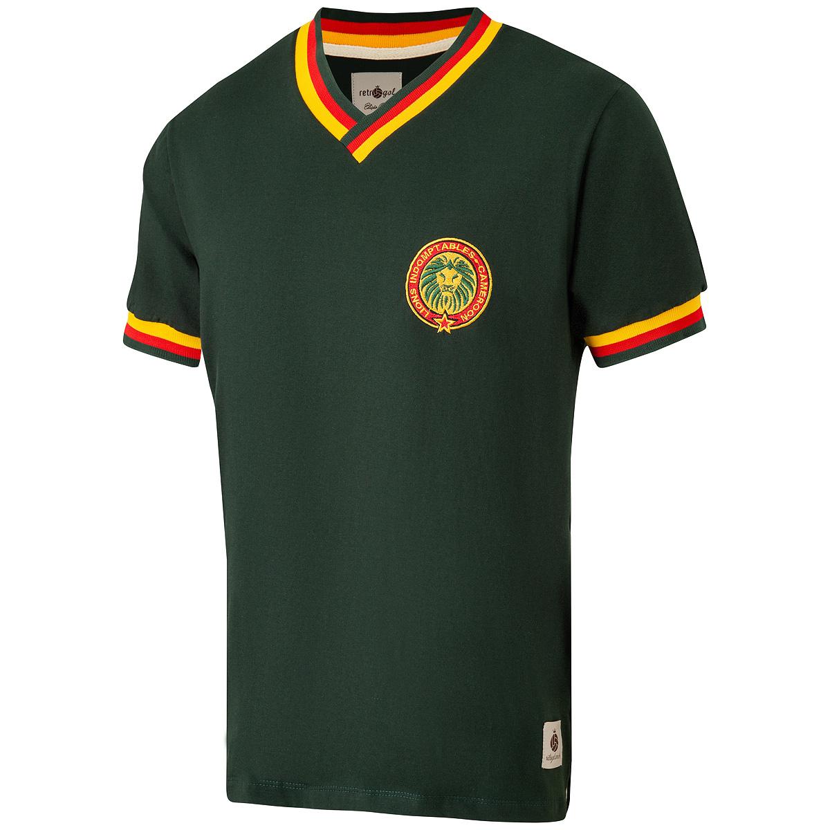 Camisa Camarões Retrô Masculina