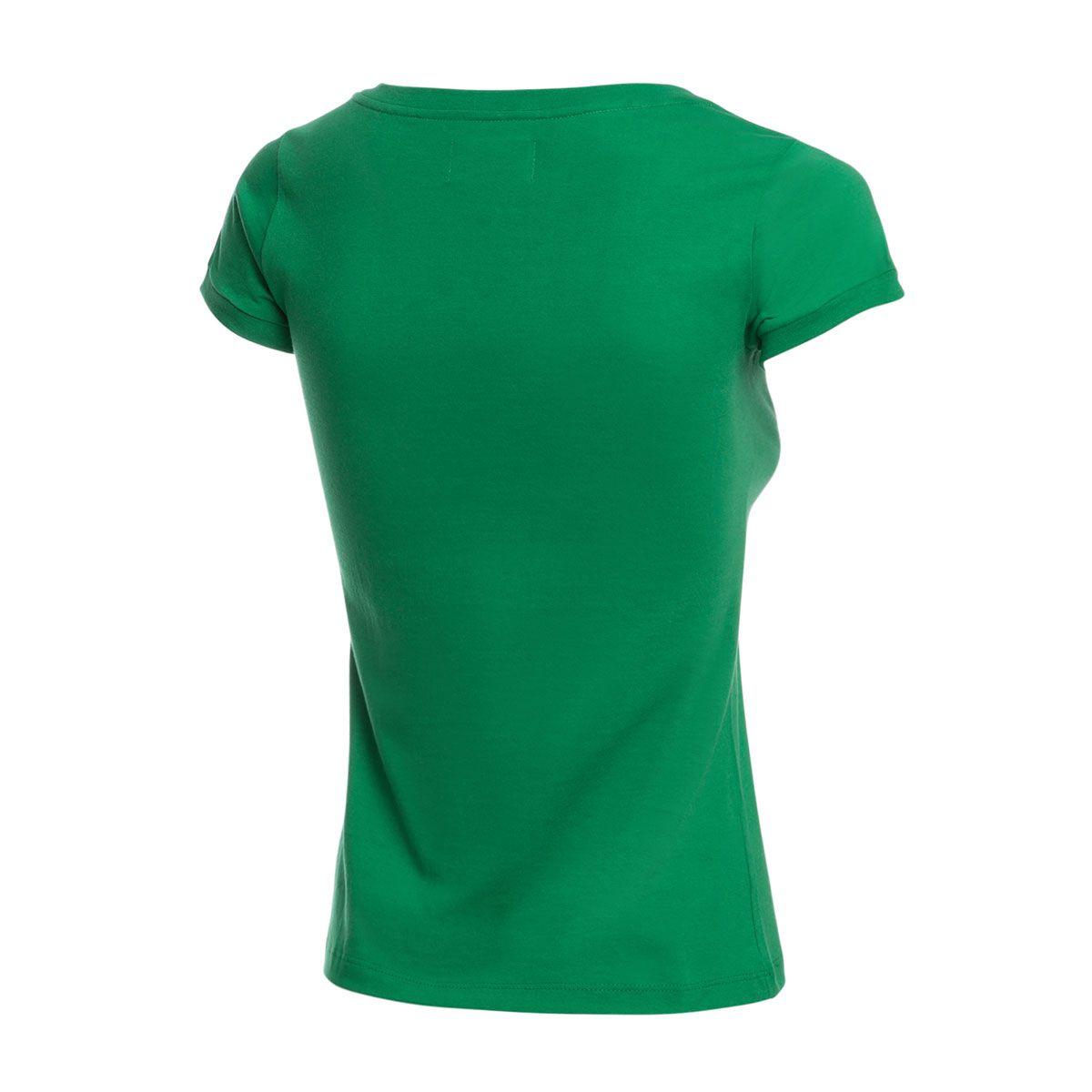 Camisa Casual Baby Look Retrô Gol Chapecoense Torcedor 1973 Verde
