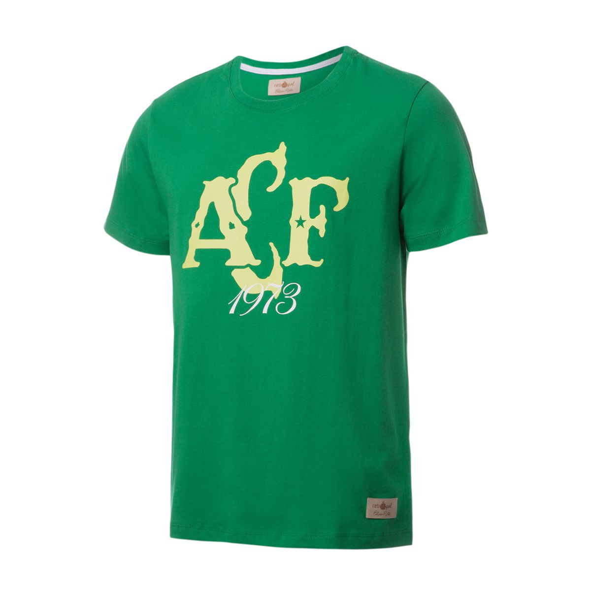 Camisa Casual Retrô Gol Chapecoense Torcedor 1973 Verde