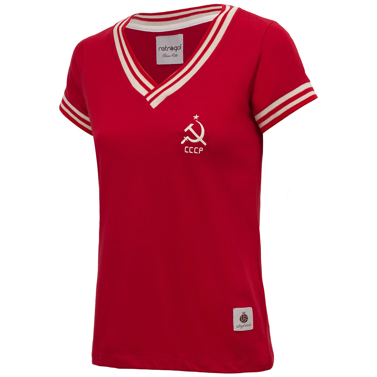 Camisa CCCP Foice Retrô Feminina