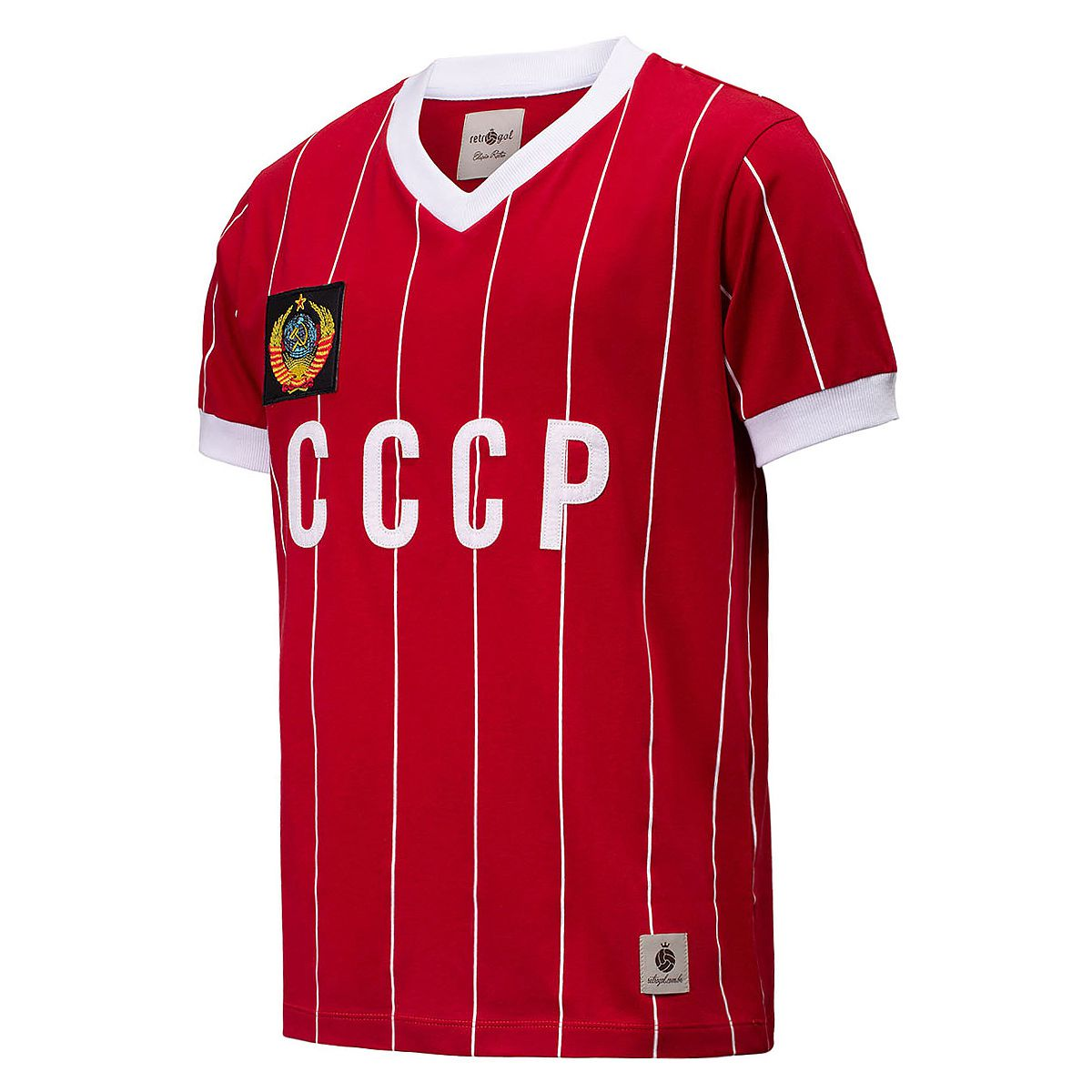 Camisa CCCP Retrô 1982 União Soviética Masculino