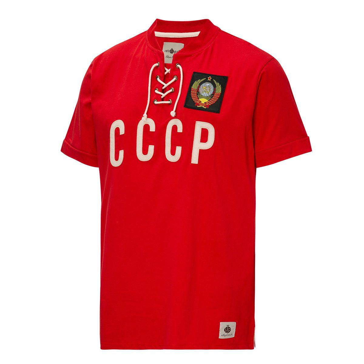 Camisa CCCP Retrô Corda União Soviética Vermelha