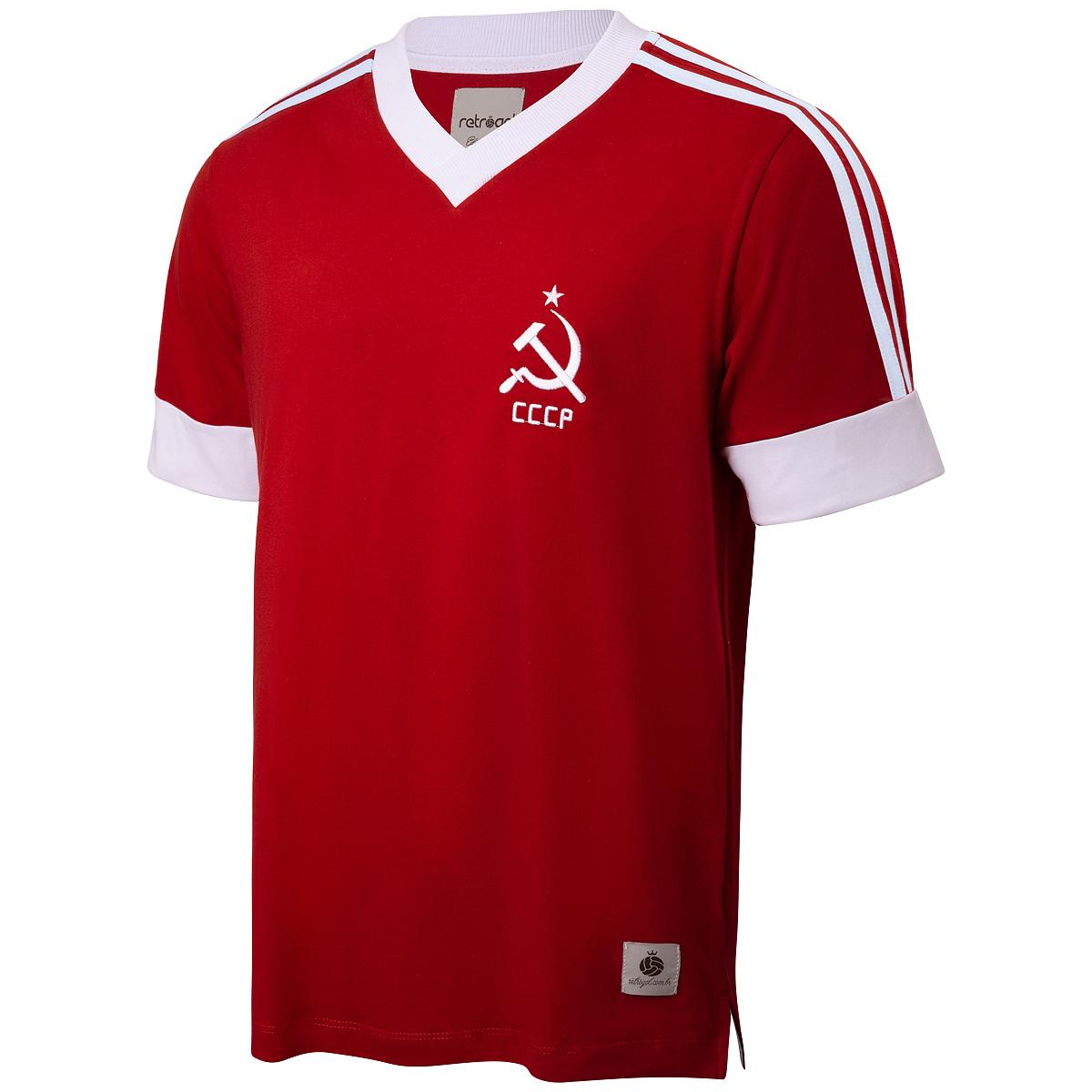 Camisa CCCP Retrô Listras Masculina