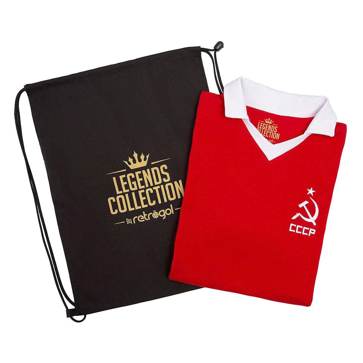 Camisa CCCP Retrô Vermelha Legends Collection + Sacola