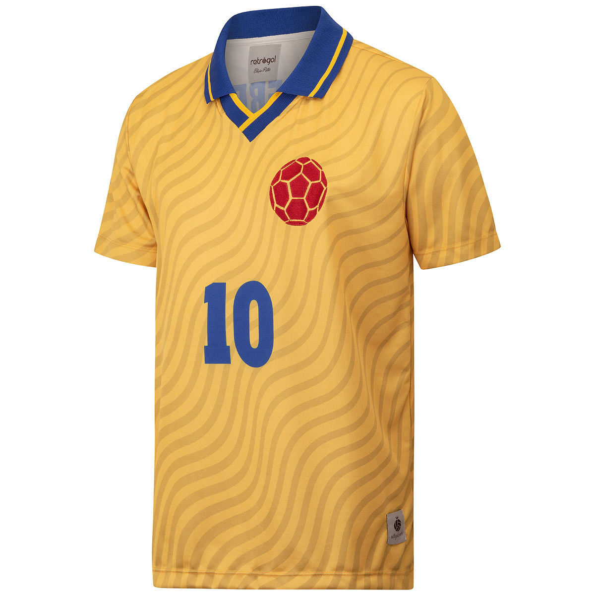 Camisa Colômbia Retrô 1994 Valderrama Masculina