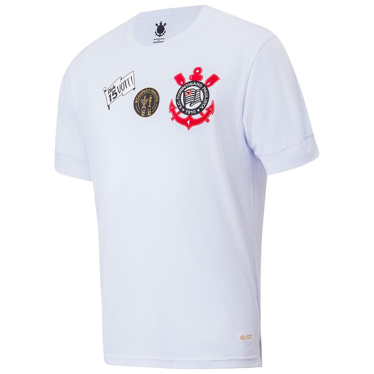 Camisa Corinthians Retrô Democracia Colecionador