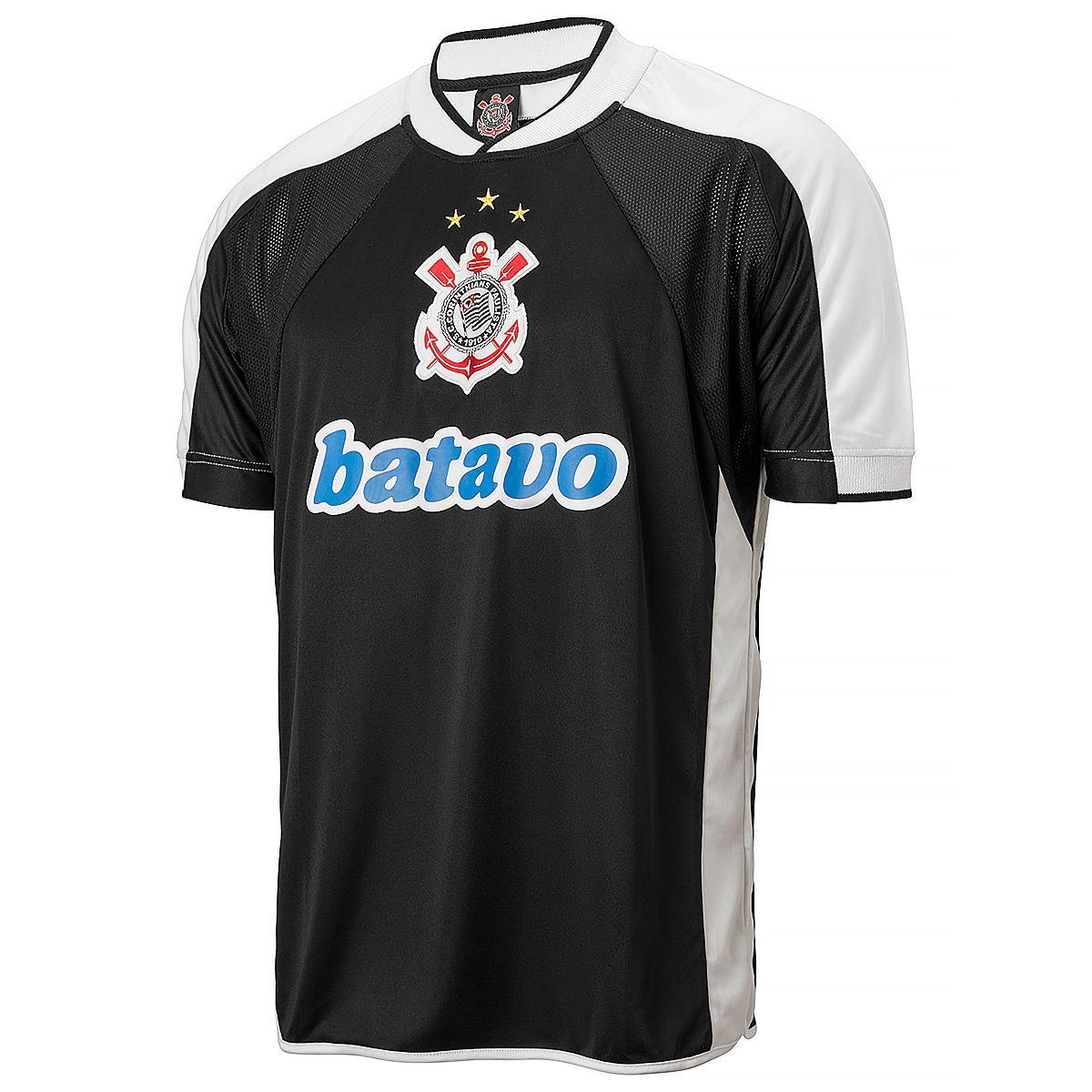 Camisa Corinthians Retrô Mundial 2000 Masculina