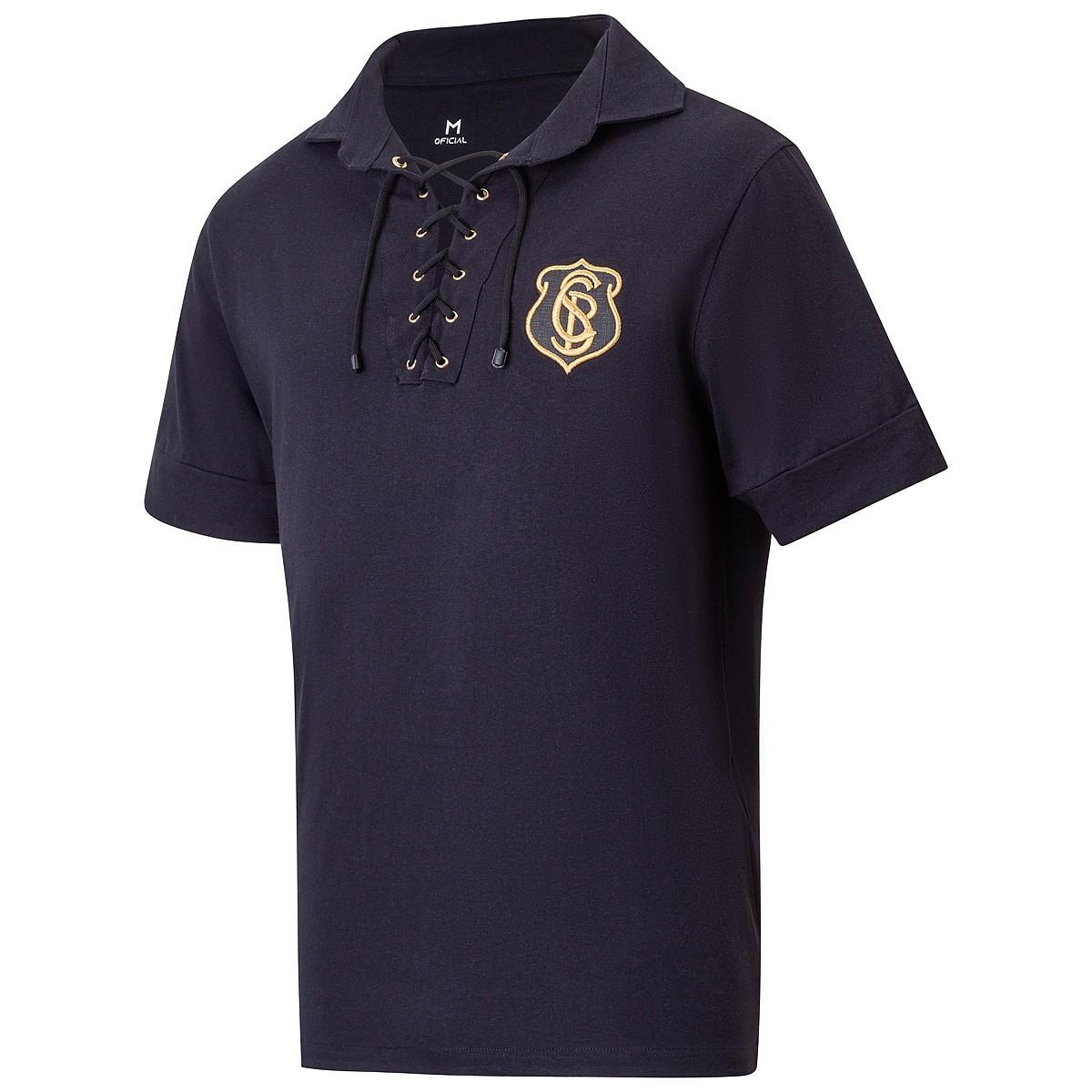 Camisa Corinthians Retrô Neco 1916 Masculina
