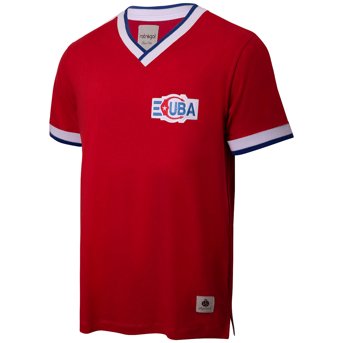 Camisa Cuba Retrô Anos 80 Masculina