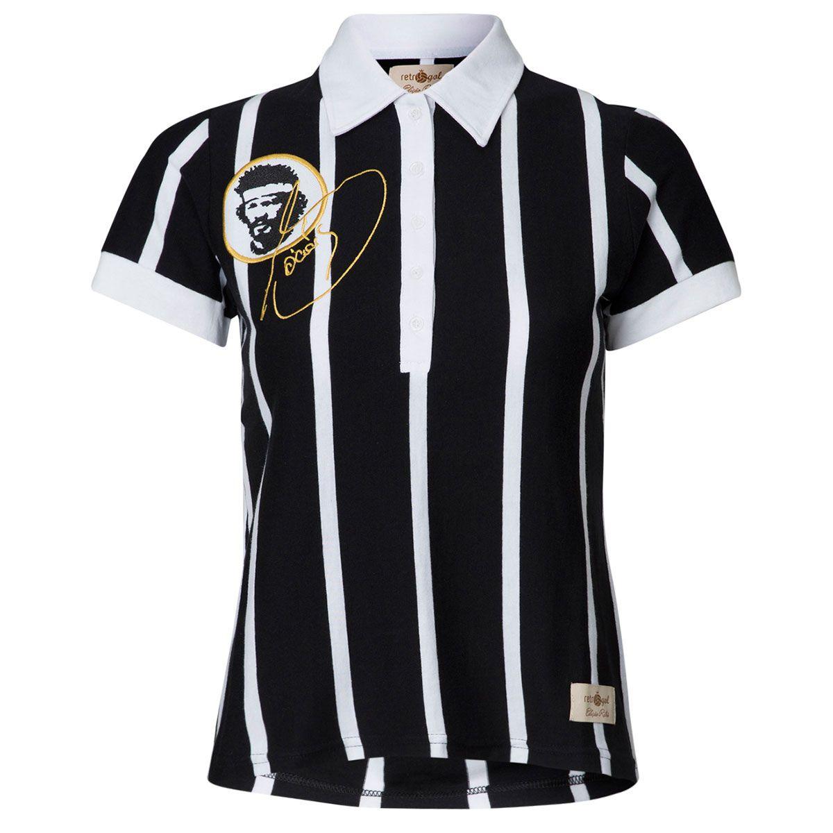 Camisa Feminina Baby Look Retrô Gol Sócrates Ex - Corinthians