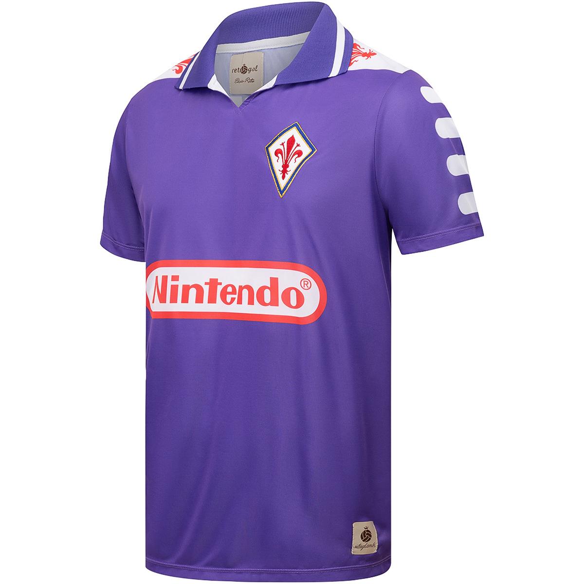 Camisa Fiorentina Retrô 1998 Batistuta Masculino