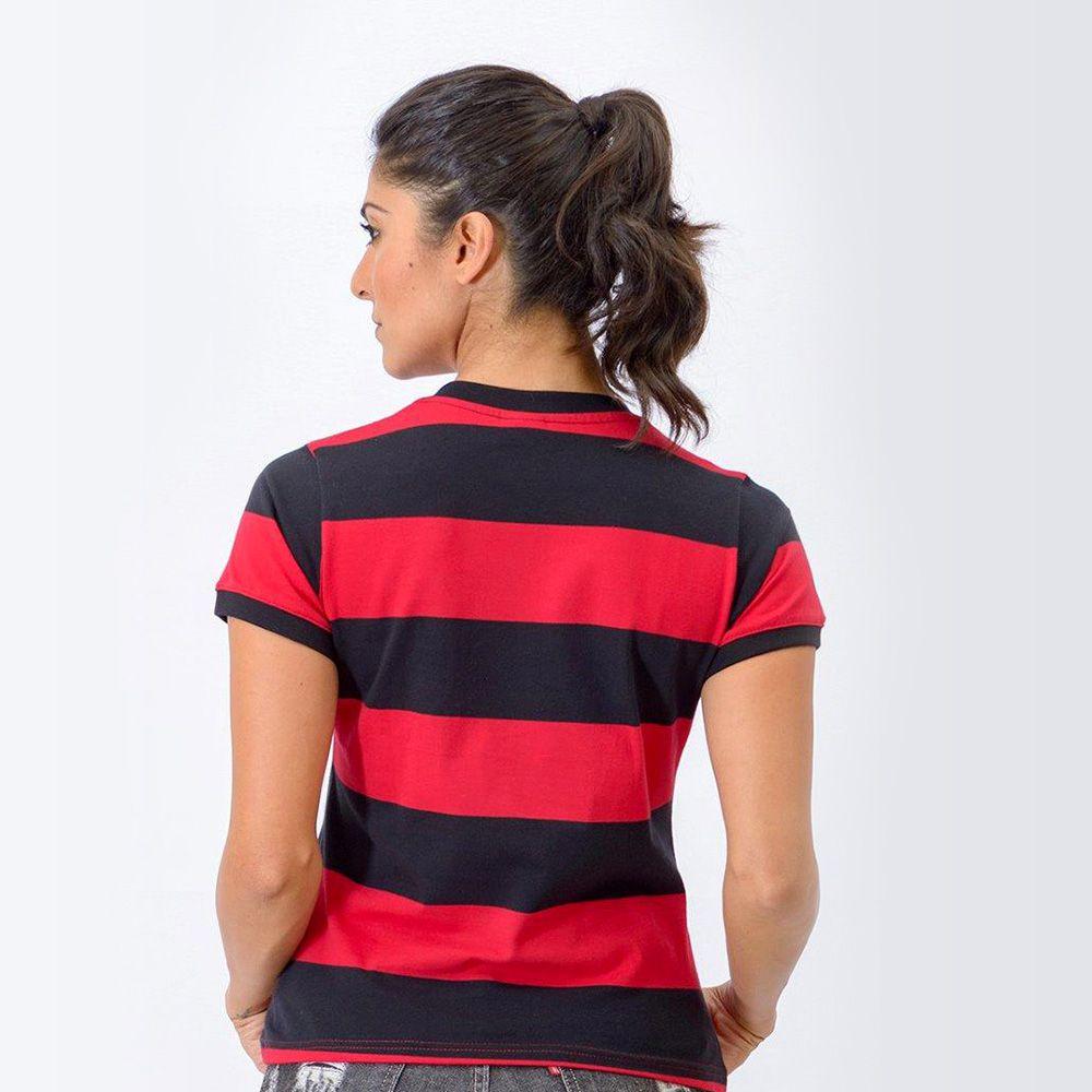 31b8115f7b ... Camisa Flamengo Feminina Retrô Baby Look Tri-Carioca 1979 - Retrôgol