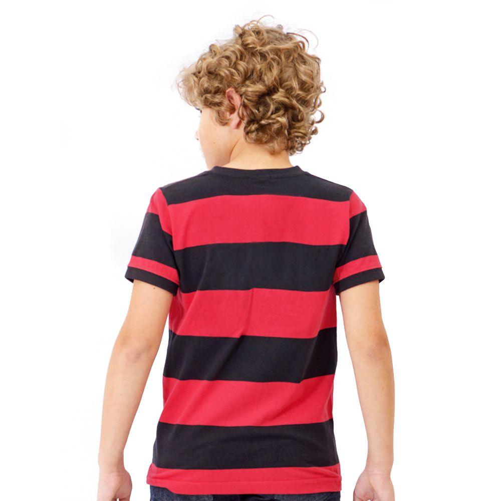 Camisa Flamengo Infantil Retrô Tri Carioca