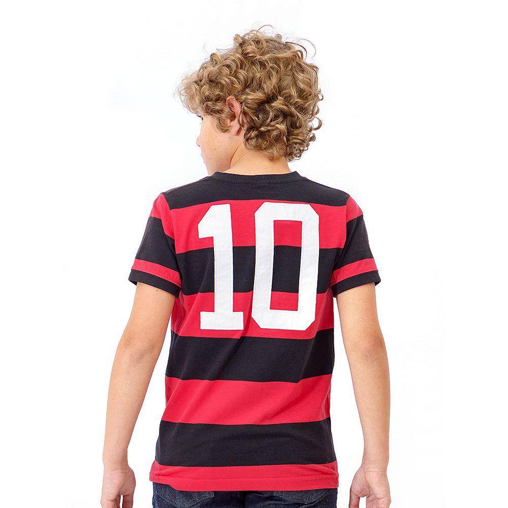 Camisa Flamengo Infantil Retrô Zico