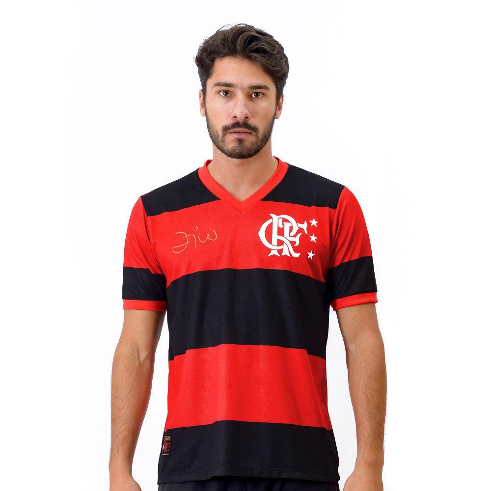 Camisa Flamengo Retrô Zico Libertadores DRY Masculina