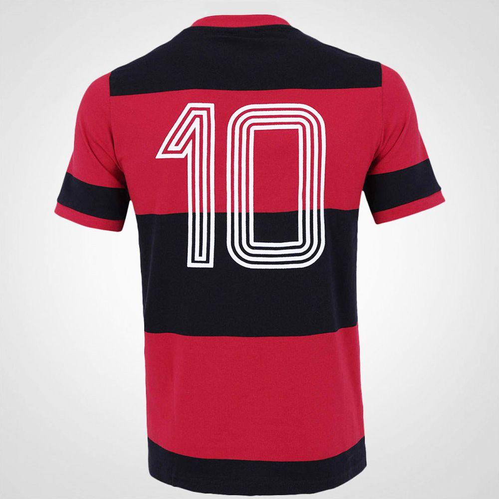 Camisa Flamengo Zico Retrô Libertadores