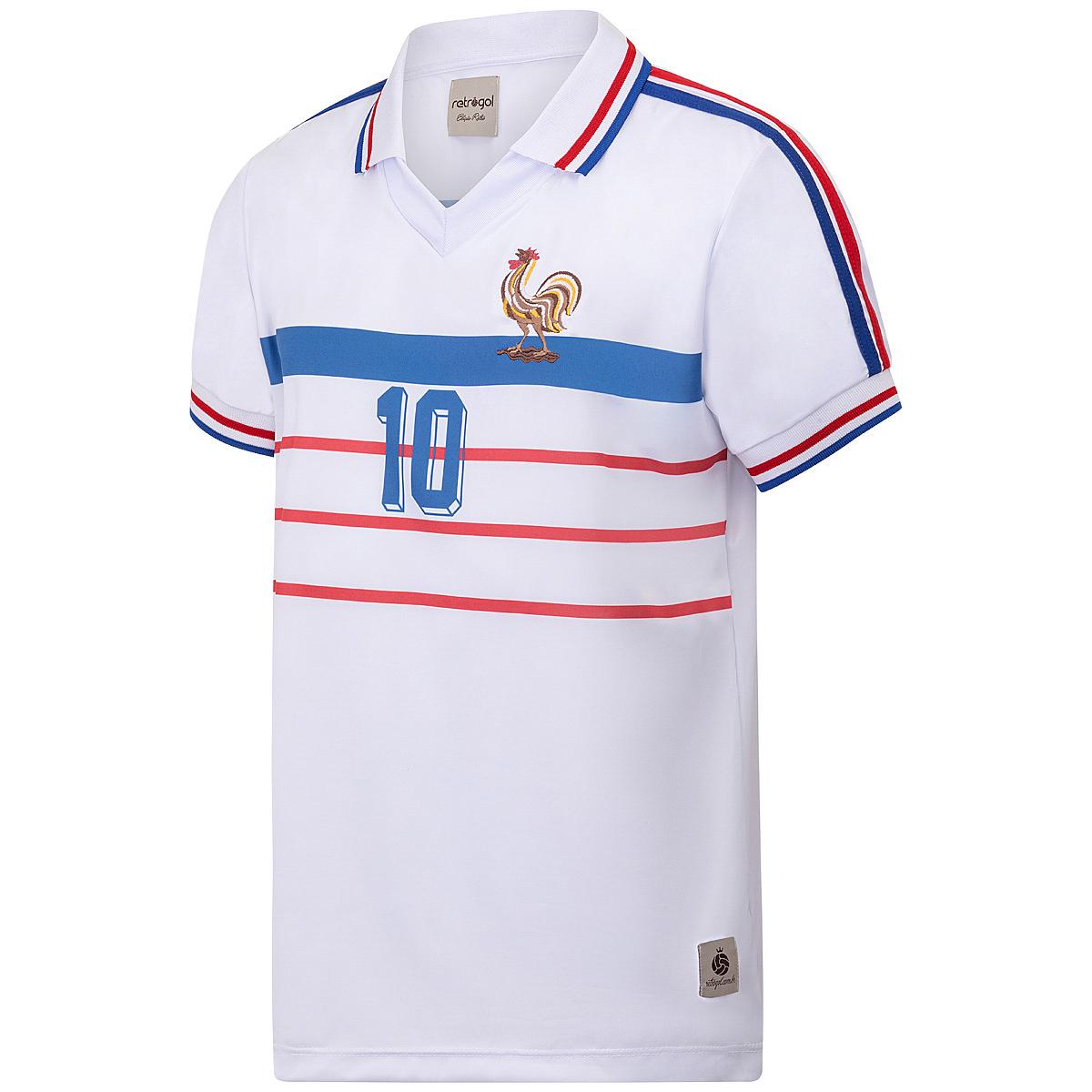 Camisa França Retrô 1998 Away Masculina