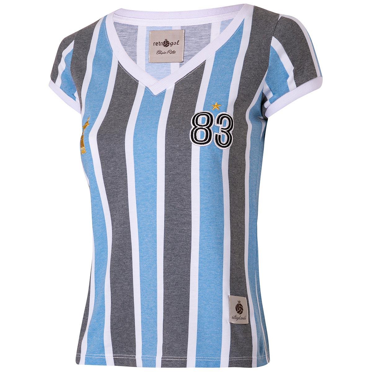 Camisa Grêmio Retrô Feminina 1983