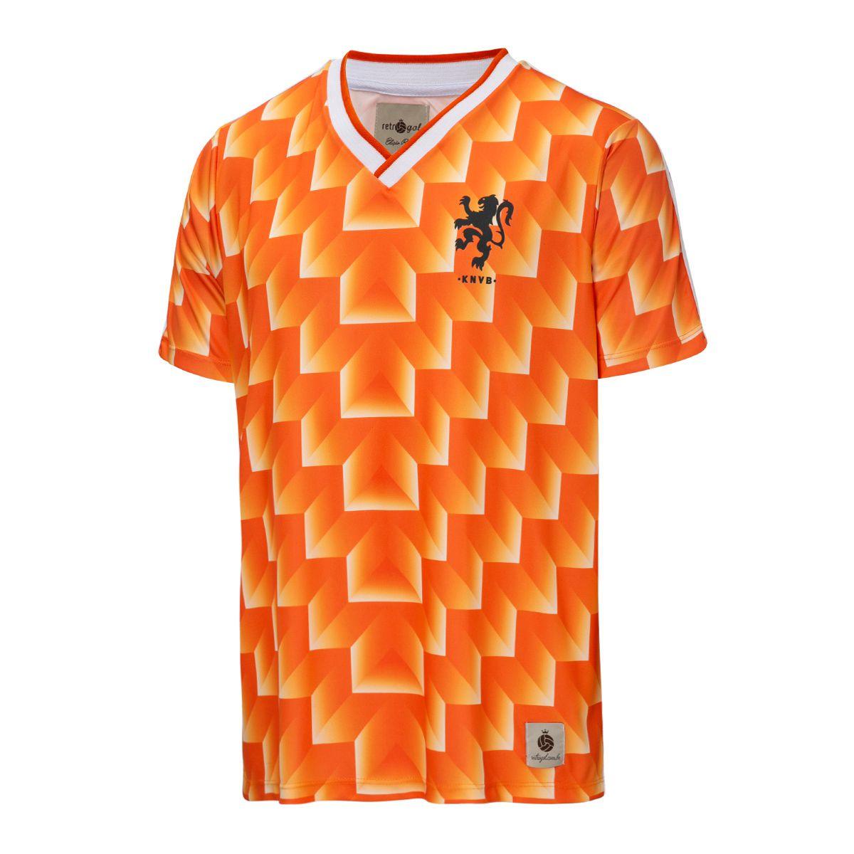 Camisa Holanda Retrô 1988