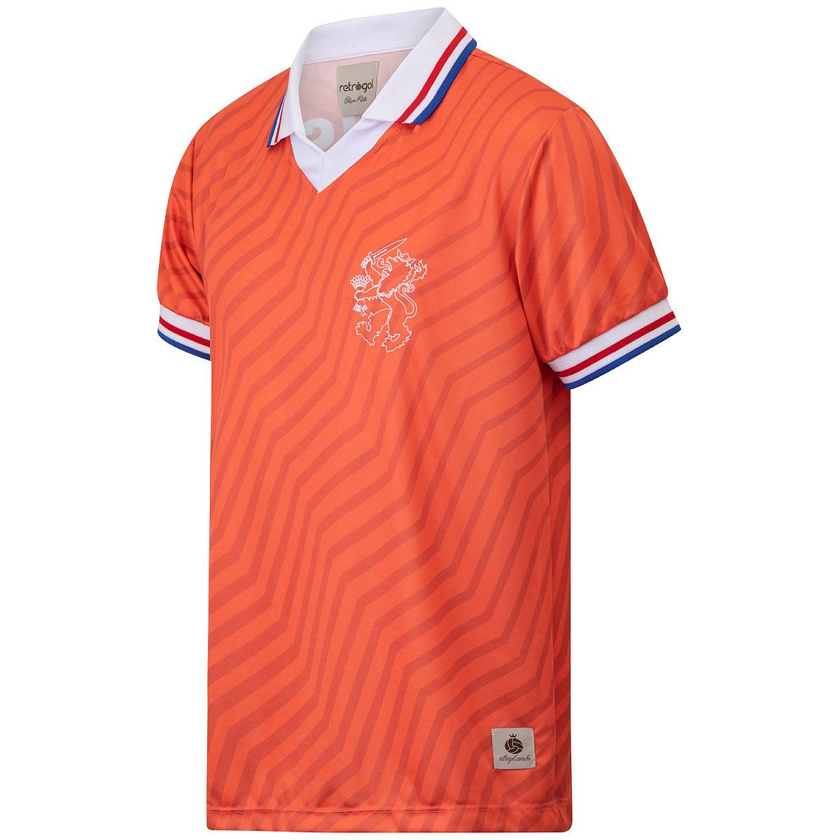 Camisa Holanda Retrô 1992 Van Basten Masculina