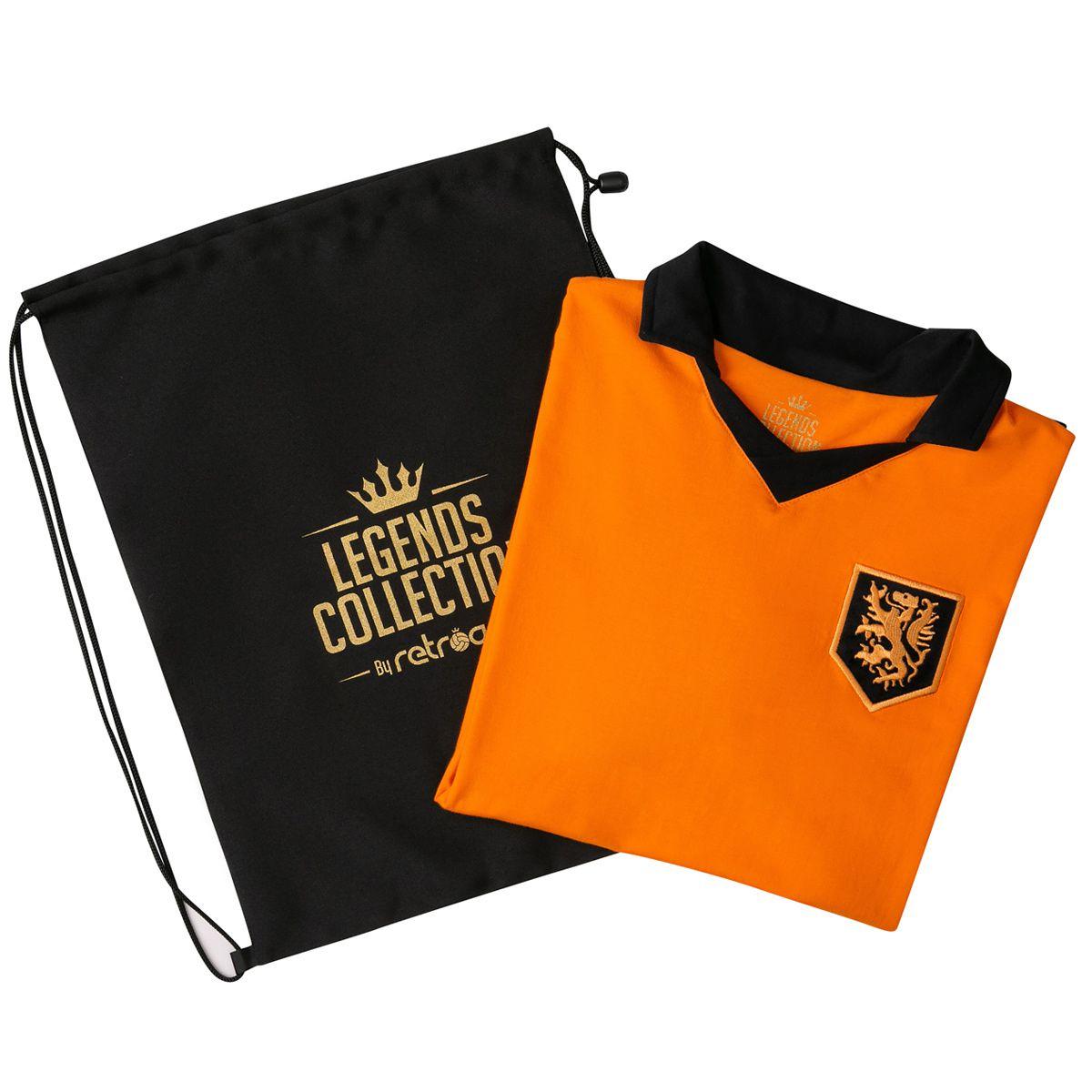 Camisa Holanda Retrô Legends Collection + Sacola