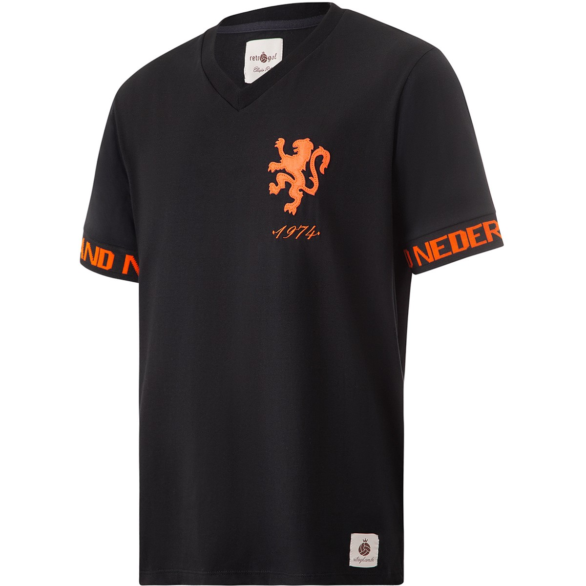 Camisa Holanda Retrô Sleeve Masculina