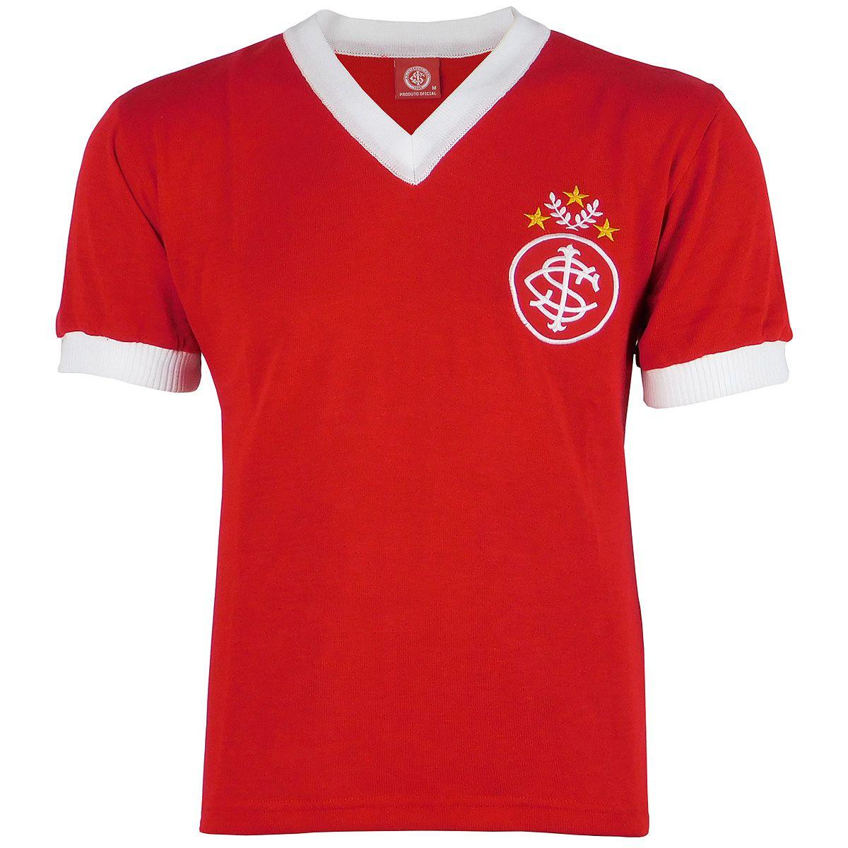 Camisa Internacional Retrô 1975 Tricô Valdomiro Masculina