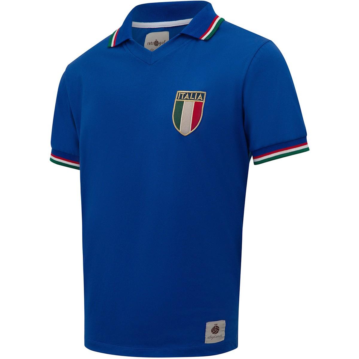 Camisa Itália Retrô 1982 nº 10 Masculina