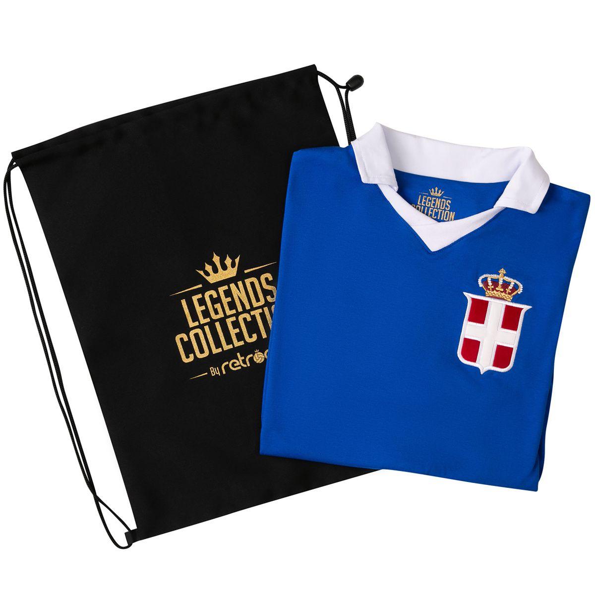 Camisa Itália Retrô Legends Collection + Sacola