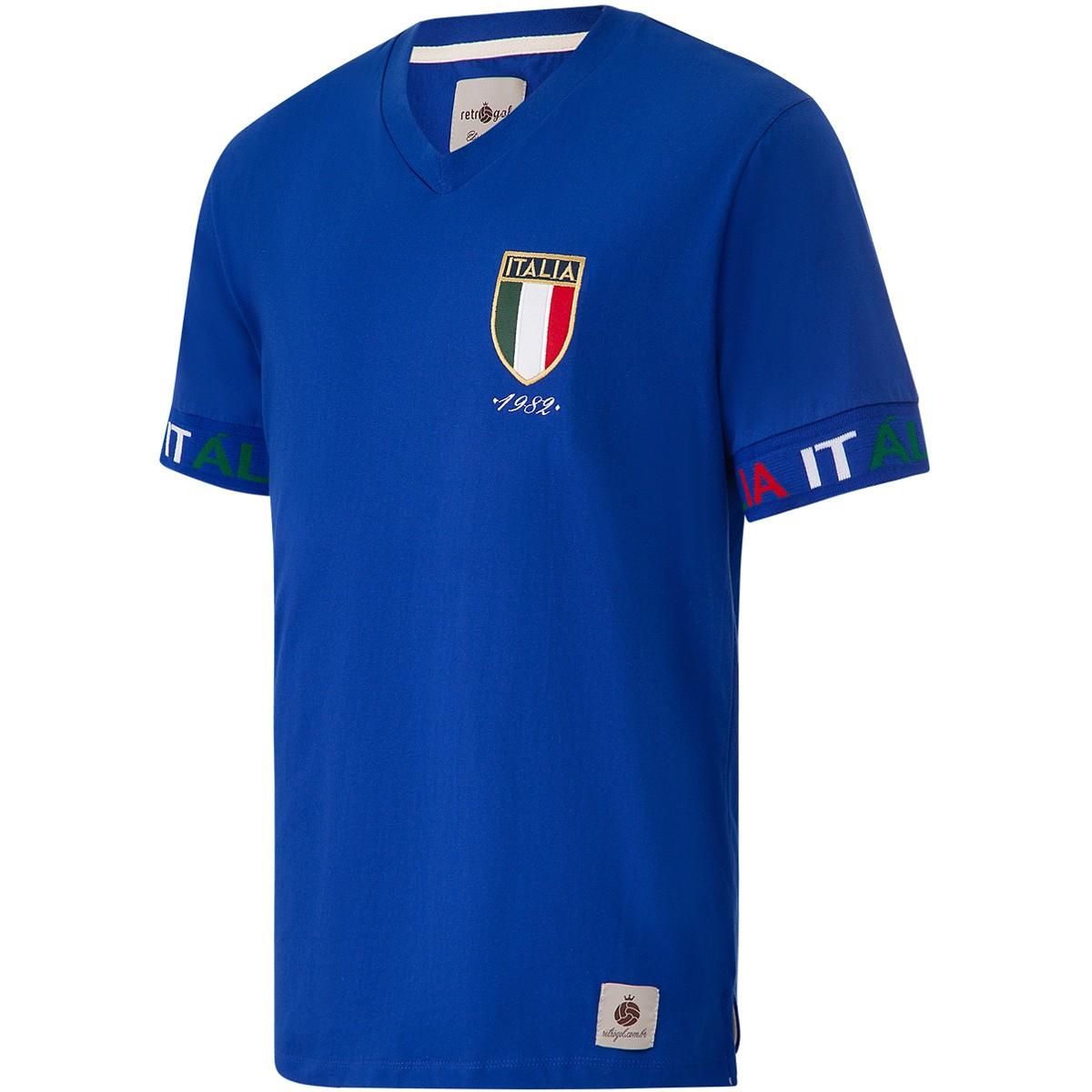 Camisa Itália Retrô Sleeve Masculina