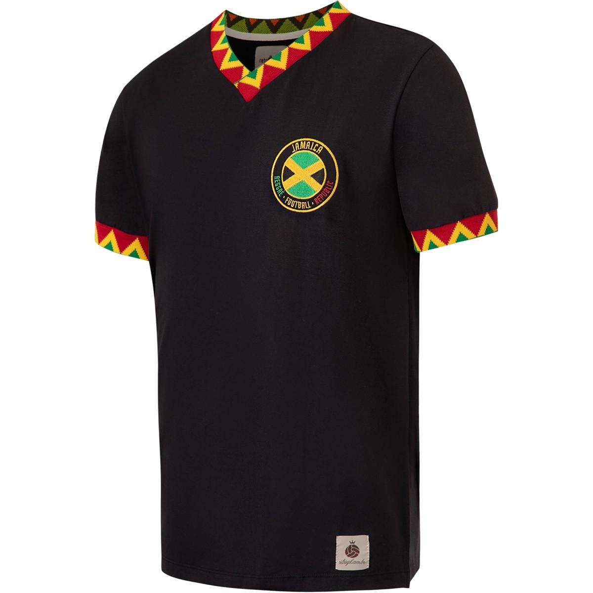 Camisa Jamaica Retrô nº 10 Masculina