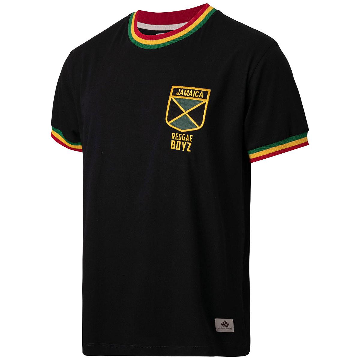 Camisa Jamaica Retrô Reggae Boyz Masculina