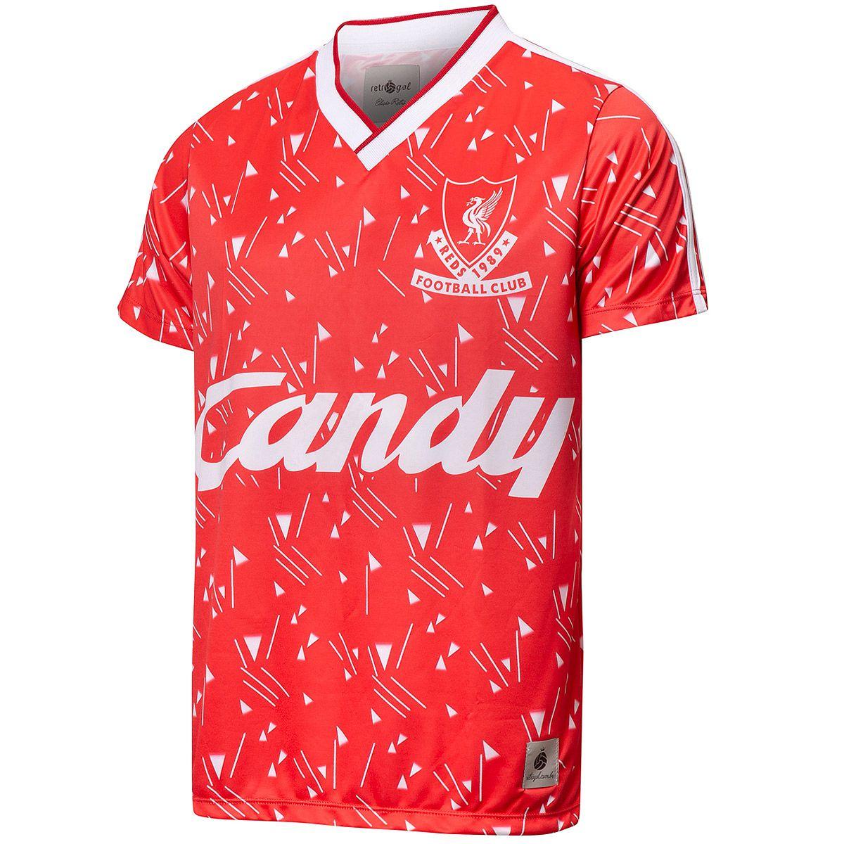 Camisa Liverpool 1989 Retrô Candy Masculino