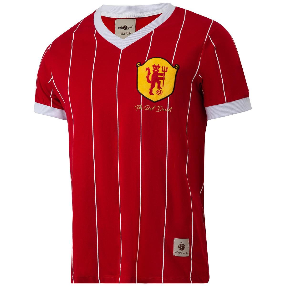 Camisa Manchester United Retrô Masculina