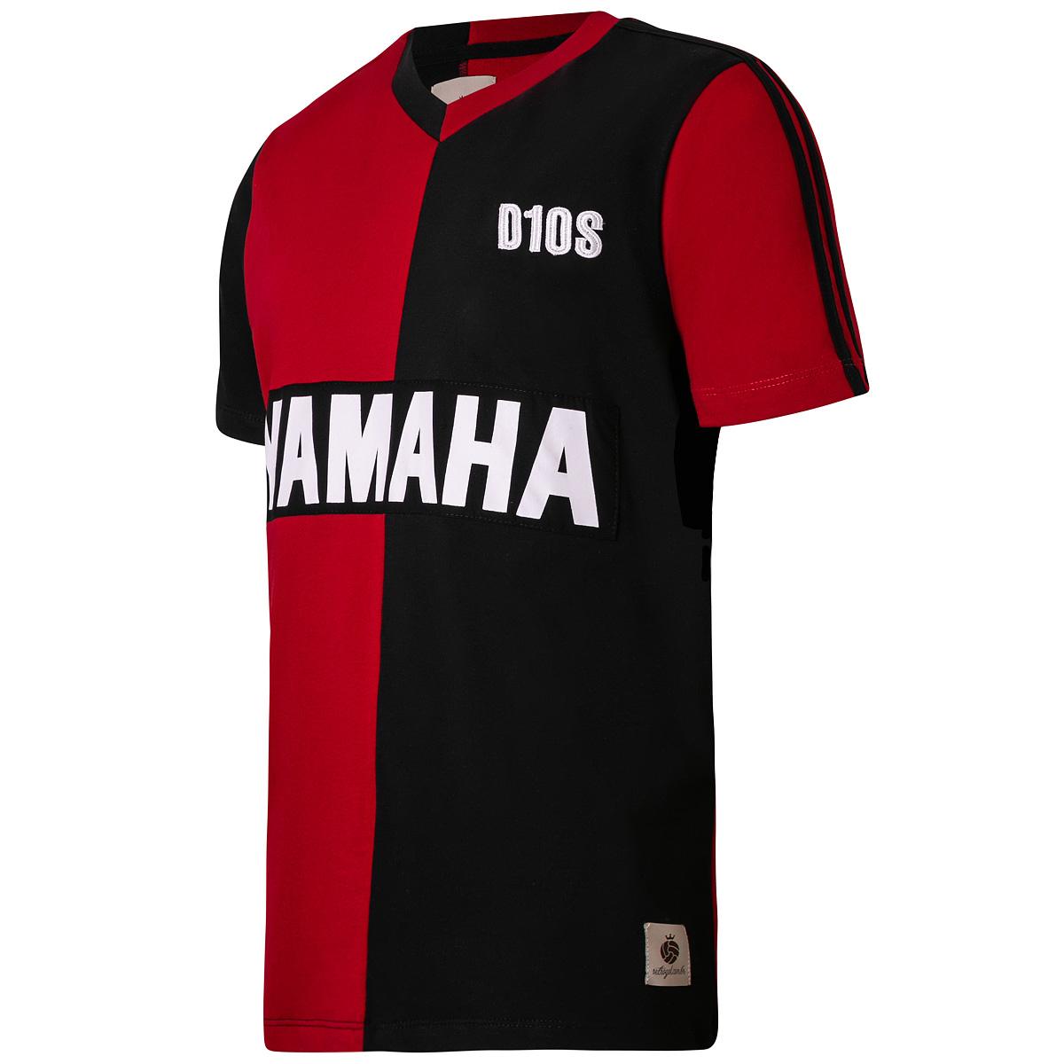 Camisa Newell's Old Boys Retrô Maradona Masculina