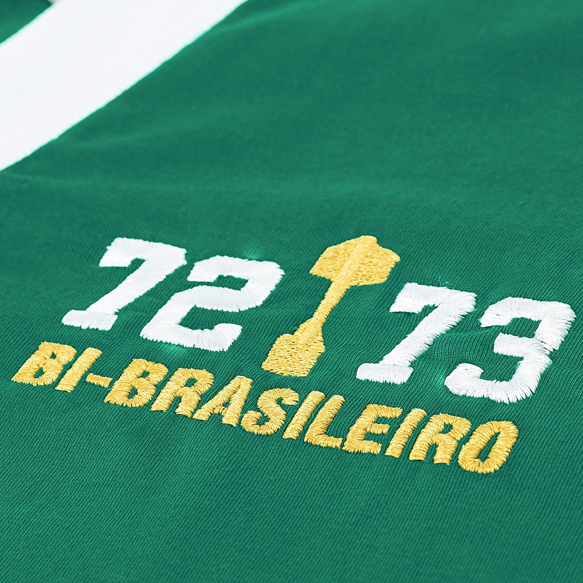 Camisa Palmeiras Retrô Gol Ademir Anos 70 Masculina