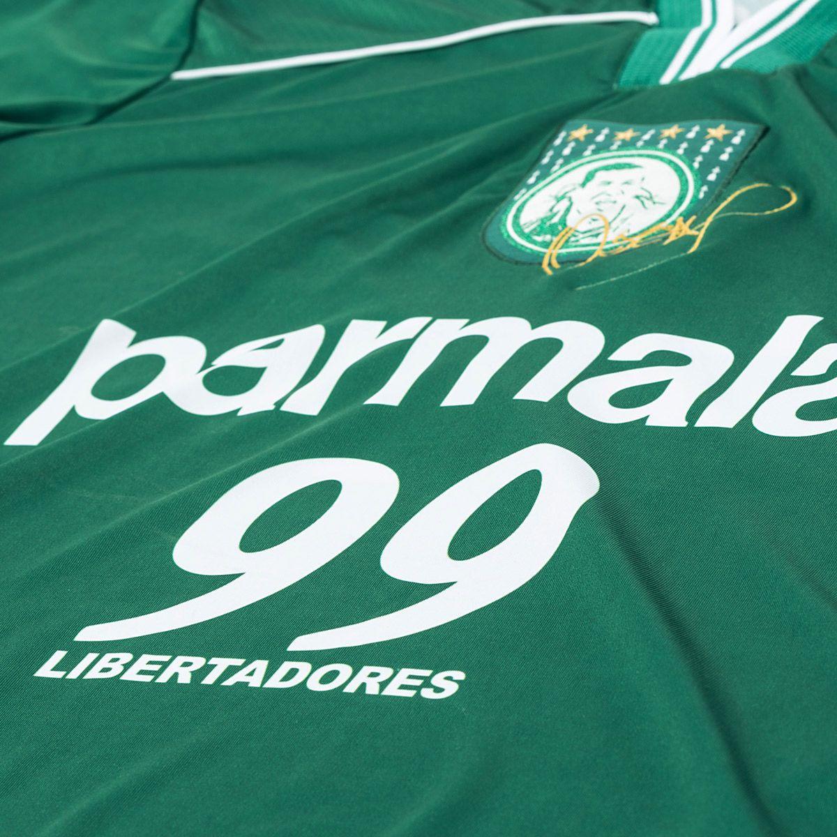 Camisa Palmeiras Retrô Gol Oséas Libertadores 99 Masculina