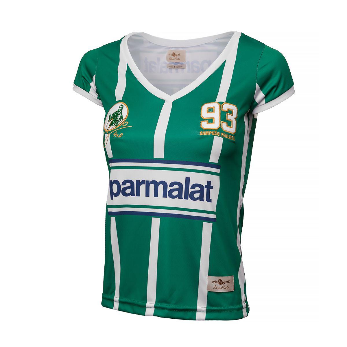 Camisa Palmeiras Retrô Gol Zinho Feminina